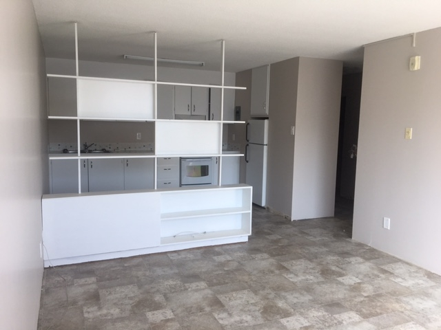 Living room - built in cabinets